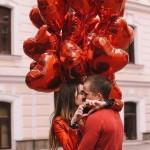 Букет Красные сердца