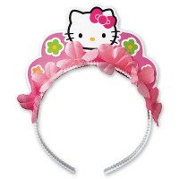 Ободок Hello Kitty Цветы