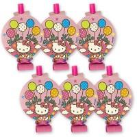 Язык-гудок с картинкой Hello Kitty 8шт