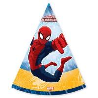 Колпаки Marvel Человек-Паук, 6 штук