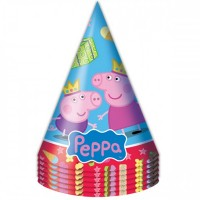 Колпаки Пеппа-принцесса, 6 штук