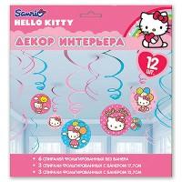 Спираль Hello Kitty 46-60, 12 штук