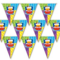 Гирлянда-вымп Торт Birthday 360см