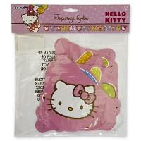 Гирлянда-буквы с Днем Рождения, Hello Kitty