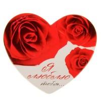 """Открытка- валентинка """"Розы"""""""