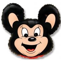 Мощный мышонок (черный)