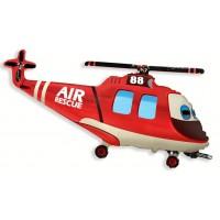 Вертолет спасательный.Воздушный шар с гелием