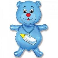 Медвежонок мальчик (синий)