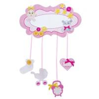 """Набор для скрапбукинга метрика малыша """"Розовые сны"""" 24.4х13.7 см"""