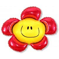 Цветочек (солнечная улыбка) красный