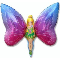 Девочка - бабочка