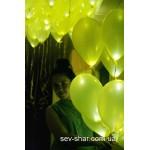 Светящиеся шары с гелием 30 см. в Севастополе