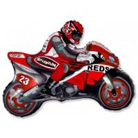 Мотоцикл (красный)