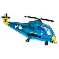 Вертолет ( синий).Шарик с гелием
